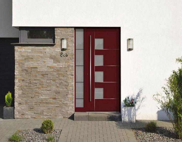 Εξωτερικές πόρτες αλουμινίου.