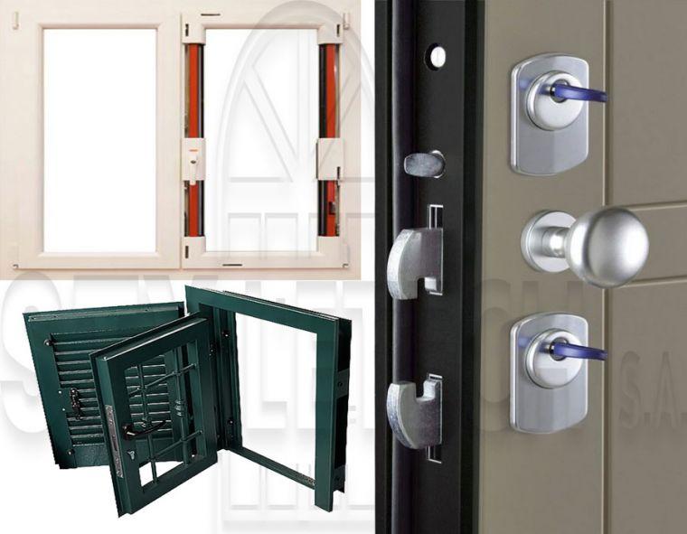 Αντι-βανδάλ σειρά σε  παραθυρόφυλλα και σε πόρτες που κατασκευάζει ή STYLETECH