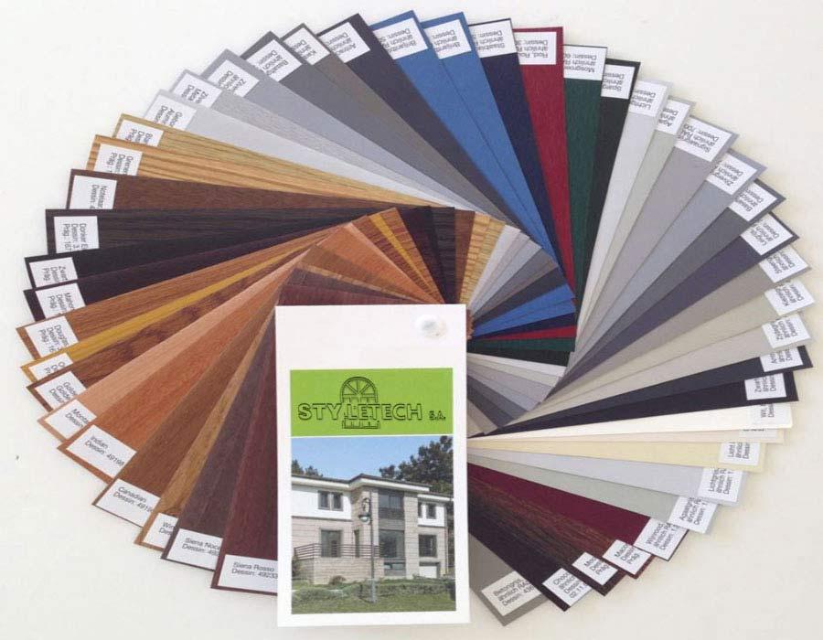 Πώς να επιλέξετε το χρώμα των κουφωμάτων σας και των παραθυρόφυλλων.