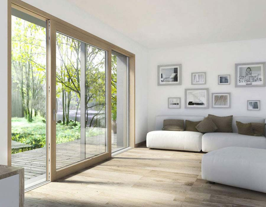 Lift and slide door REHAU from STYLETECH.