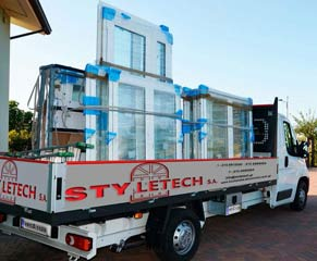 Styletech.sa - ready-to-install window frames.