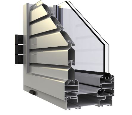 Aluminum windows EUROPA 500