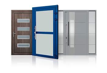 Εξωτερικές πόρτες αλουμινίου etem-europa