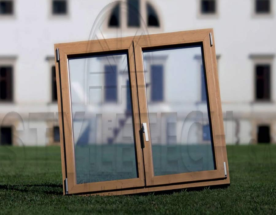 The right recipe for energy-efficient glass windows in aluminum frames and synthetic pvc