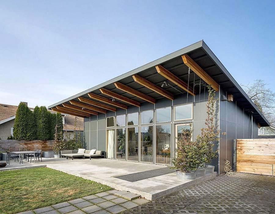 Παθητικό σπίτι με κουφώματα συνθετικά pvc (Passive house, nZEB)
