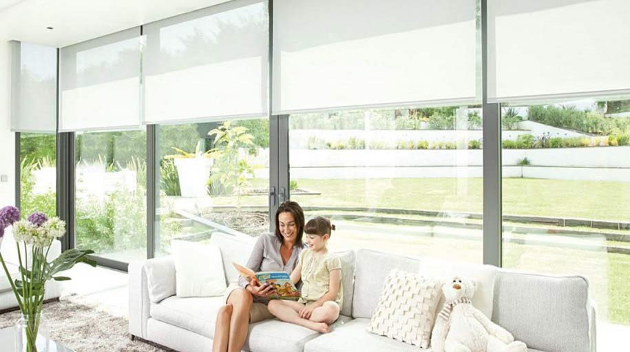The electric somfy actuators for interior curtains or blinds