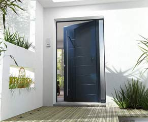 You can choose from a wide range of armored security doors.