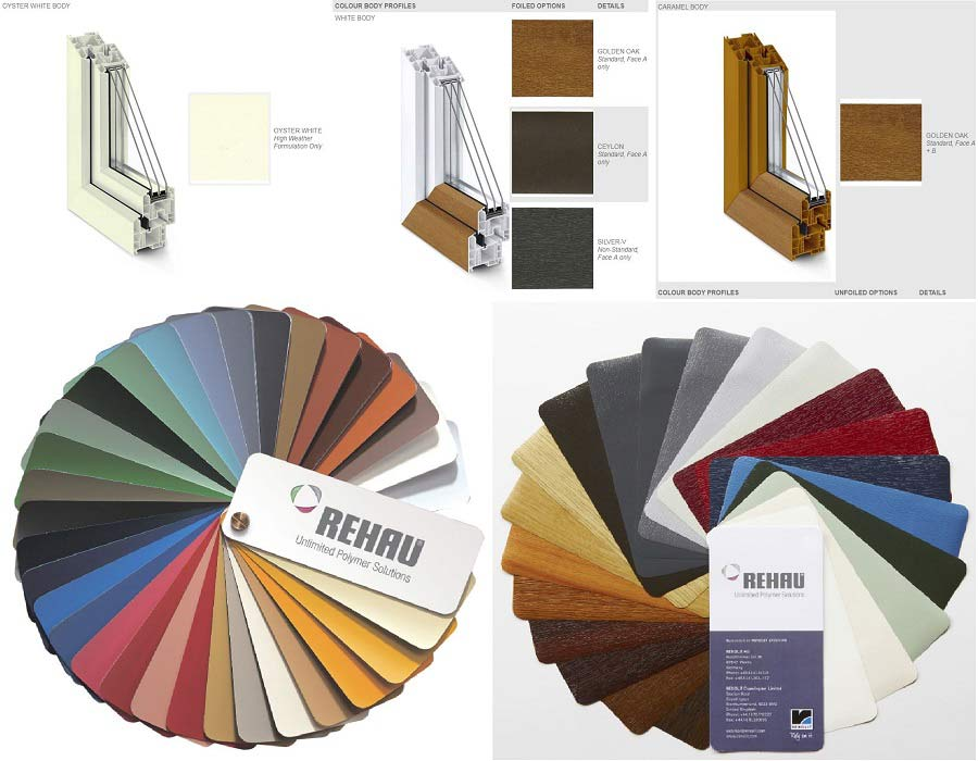 Με ένα ευρύ φάσμα χρωμάτων και πολλαπλών διαμορφώσεων pvc