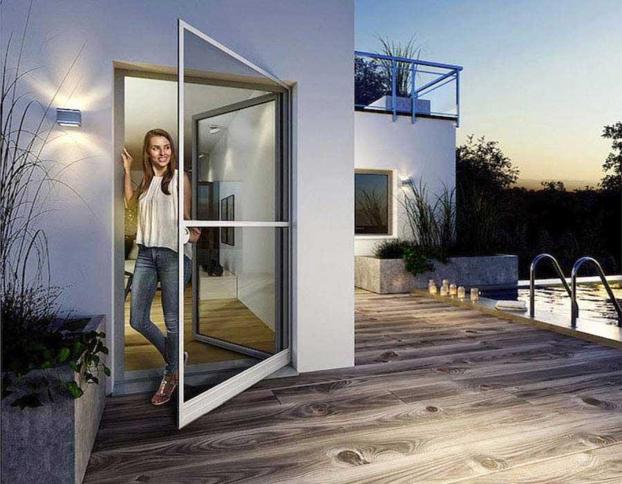 Σήτες ανοιγώμενες τύπου πόρτας