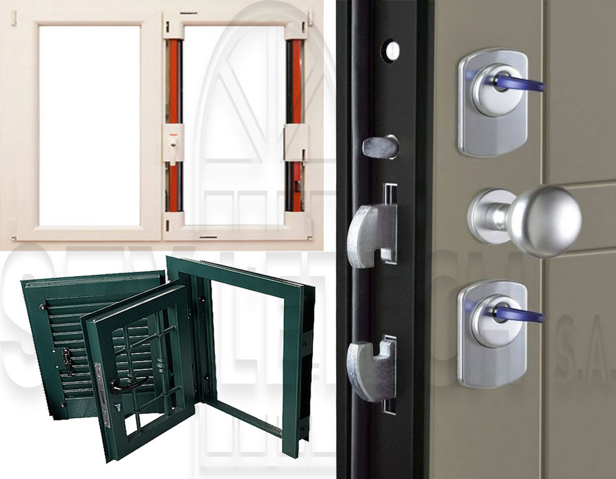 Τα αντικλεπτικά κουφώματα, ρολά, παράθυρα και πόρτες  ασφαλείας μας